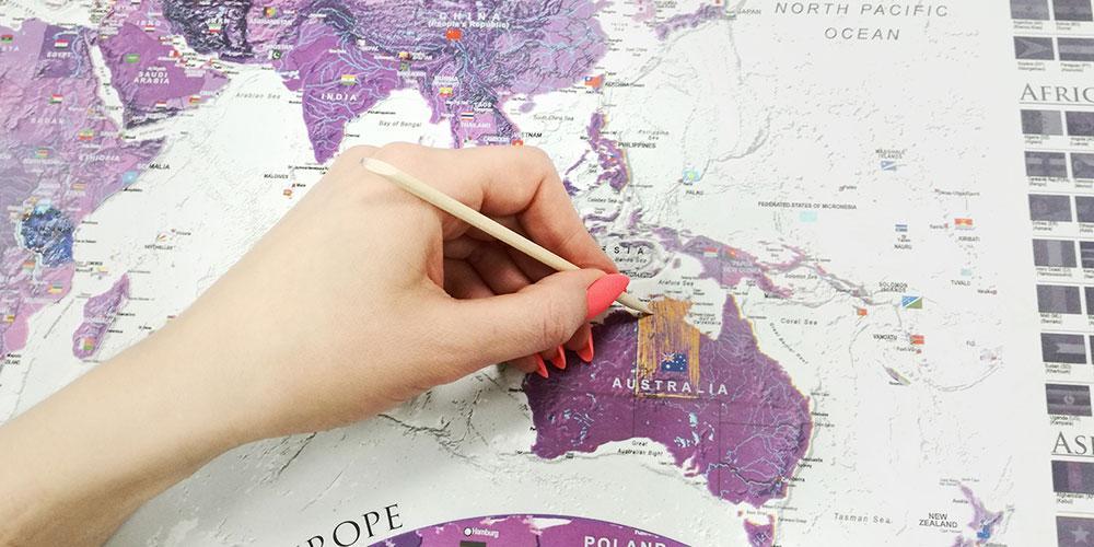 Kaparós térkép
